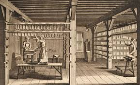 Drying loft (From Diderot's Encyclopedia)