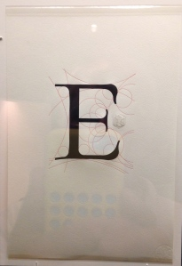"""""""E is for Euclid"""" from Aethelwold Etc."""