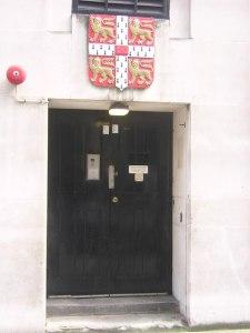 The trade counter entrance