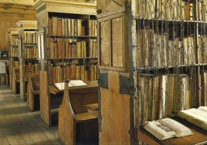 Hereford Cathedral's chained library