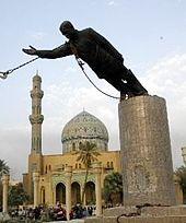 ditto, Saddam Hussein, Baghdad, 2003