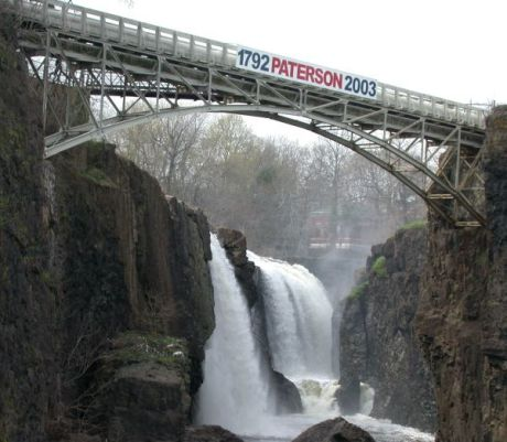 Great Falls of the Passaic River in Paterson, New Jersey © 2004 Matthew Trump