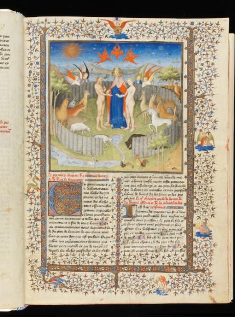 folio 15 recto after restoration