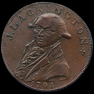 A Lackington token