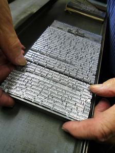 Photo: Gloucester Typesetting